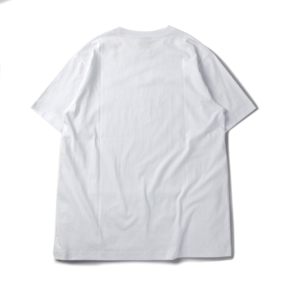 LMA FINGER TEE - WHITE