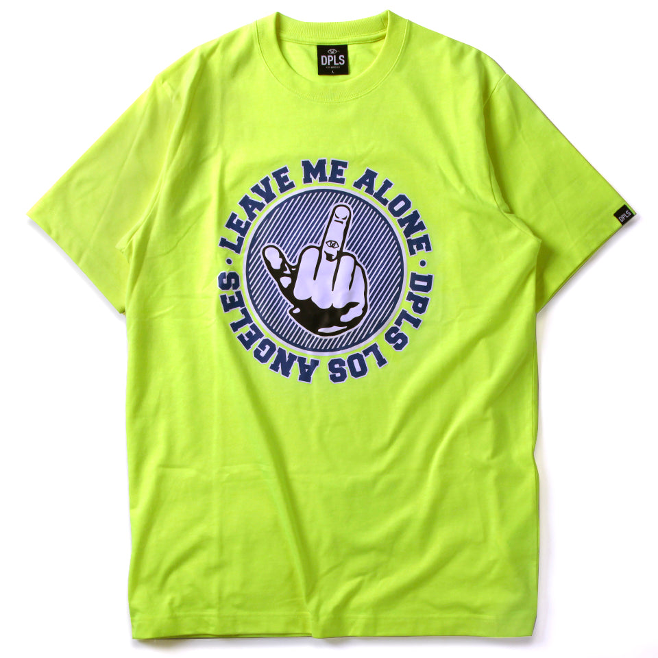 LMA FINGER TEE - YELLOW