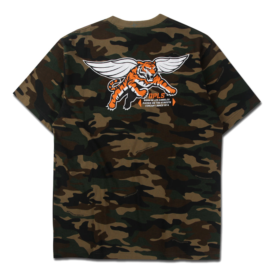 FLYING TIGER TEE - OLIVE