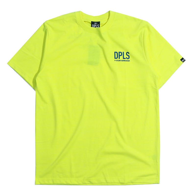 BORN RAISED CONCEPT TEE - YELLOW