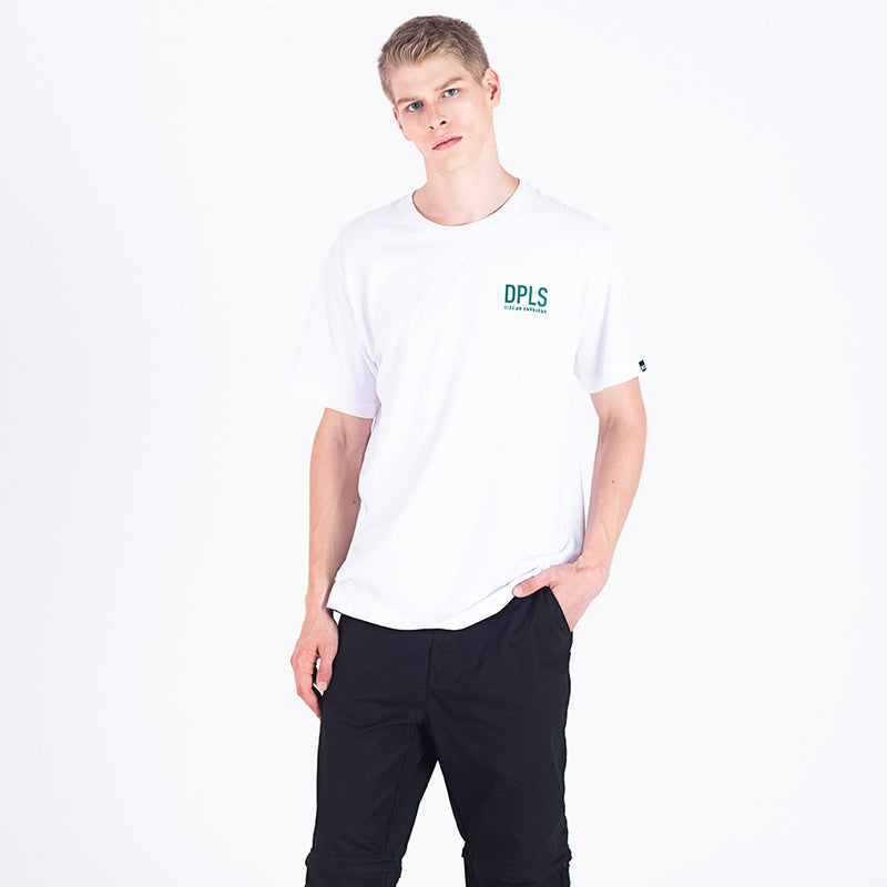 BORN RAISED CONCEPT TEE - WHITE