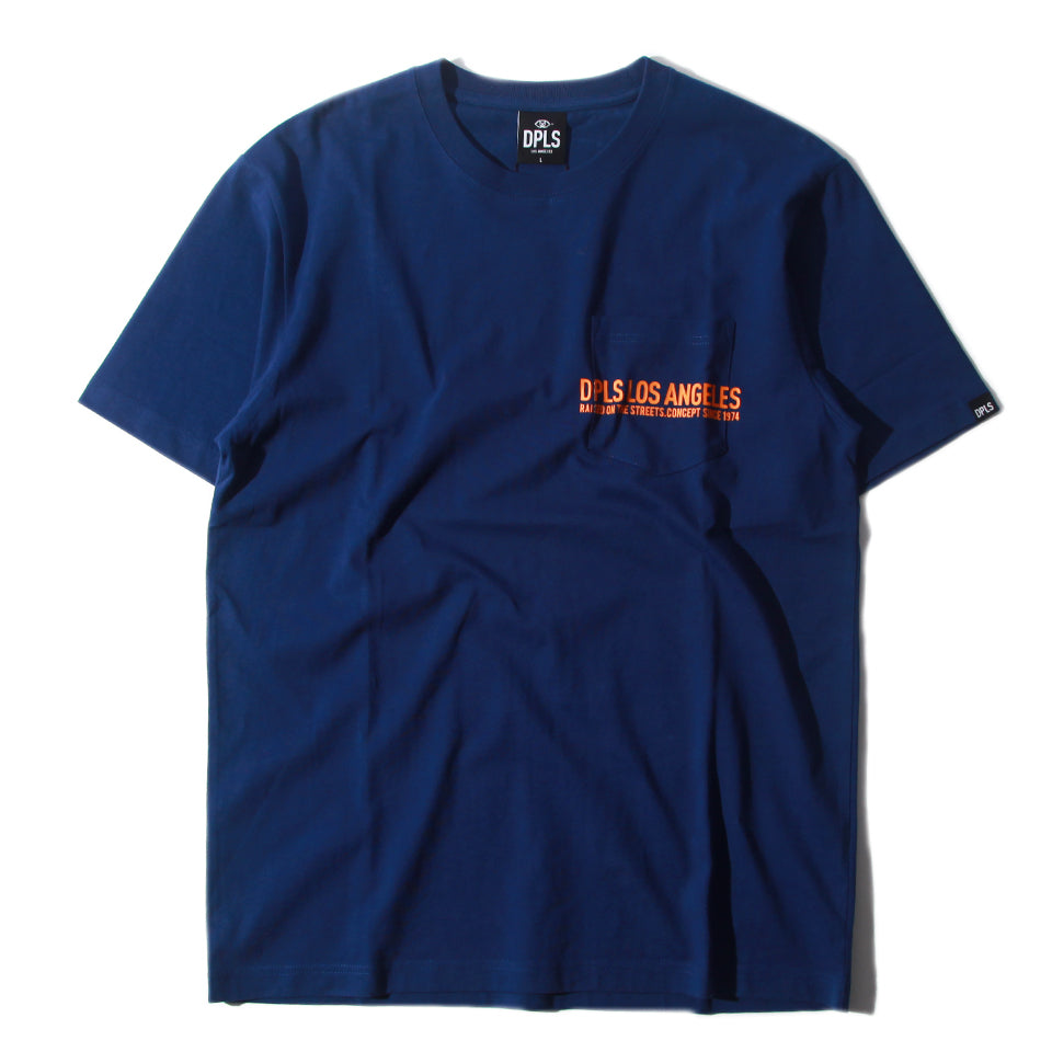 DPLS POCKET TEE - BLUE (1649203707975)