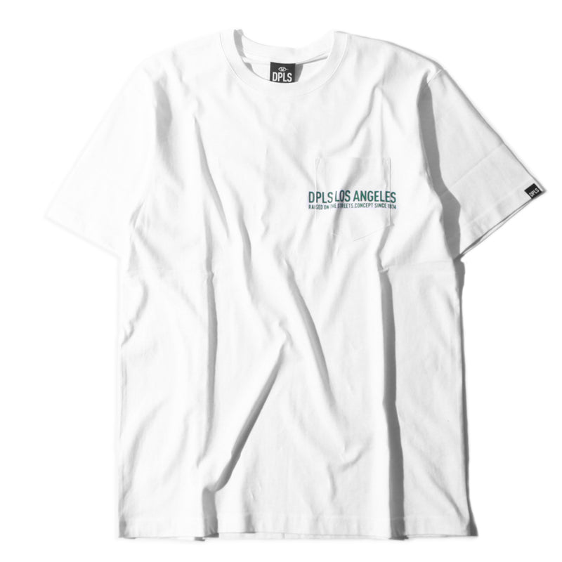 DPLS POCKET TEE - WHITE