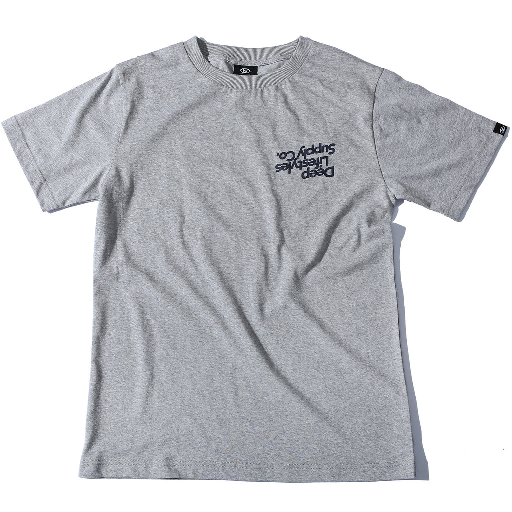 UP DOWN CLASSIC TEE - HEATHER GRAY