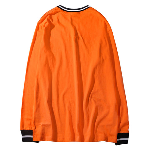 EST LONG SLEEVE TEE - ORANGE