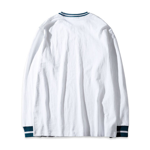 EST LONG SLEEVE TEE - WHITE