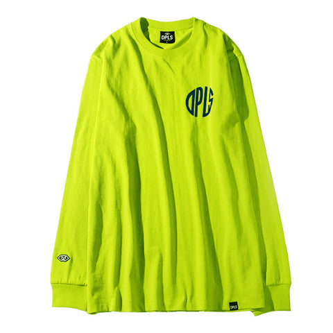 ABSTRACT MARK TEE - NEON YELLOW