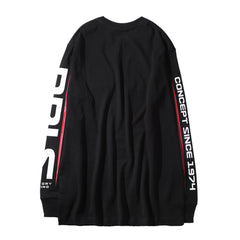 1974 LONG SLEEVE TEE - BLACK