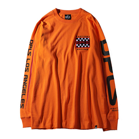 1974 LONG SLEEVE TEE - ORANGE