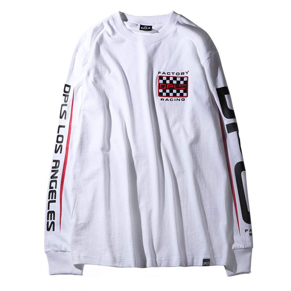 1974 LONG SLEEVE TEE - WHITE