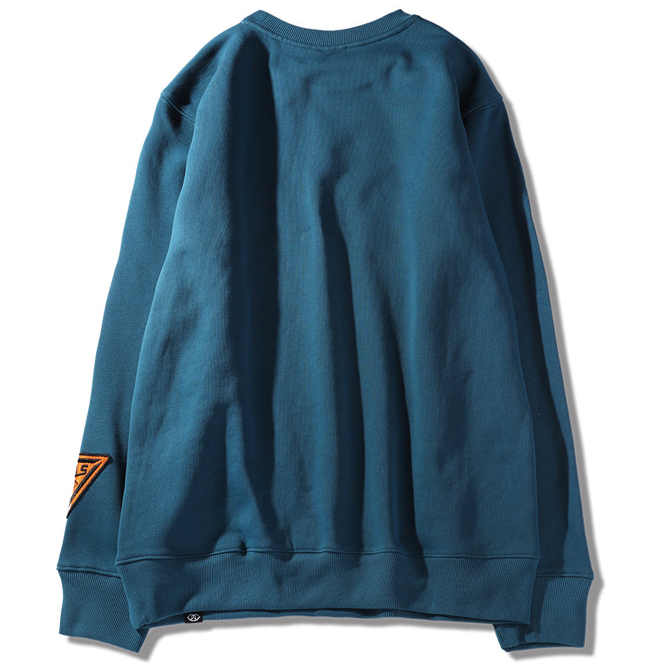 LA TIGER SWEATSHIRT - TEAL (1482383425607)
