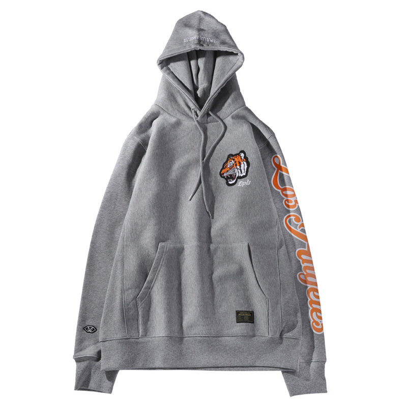 TIGER NATION HOODIE - GRAY (1483705221191)