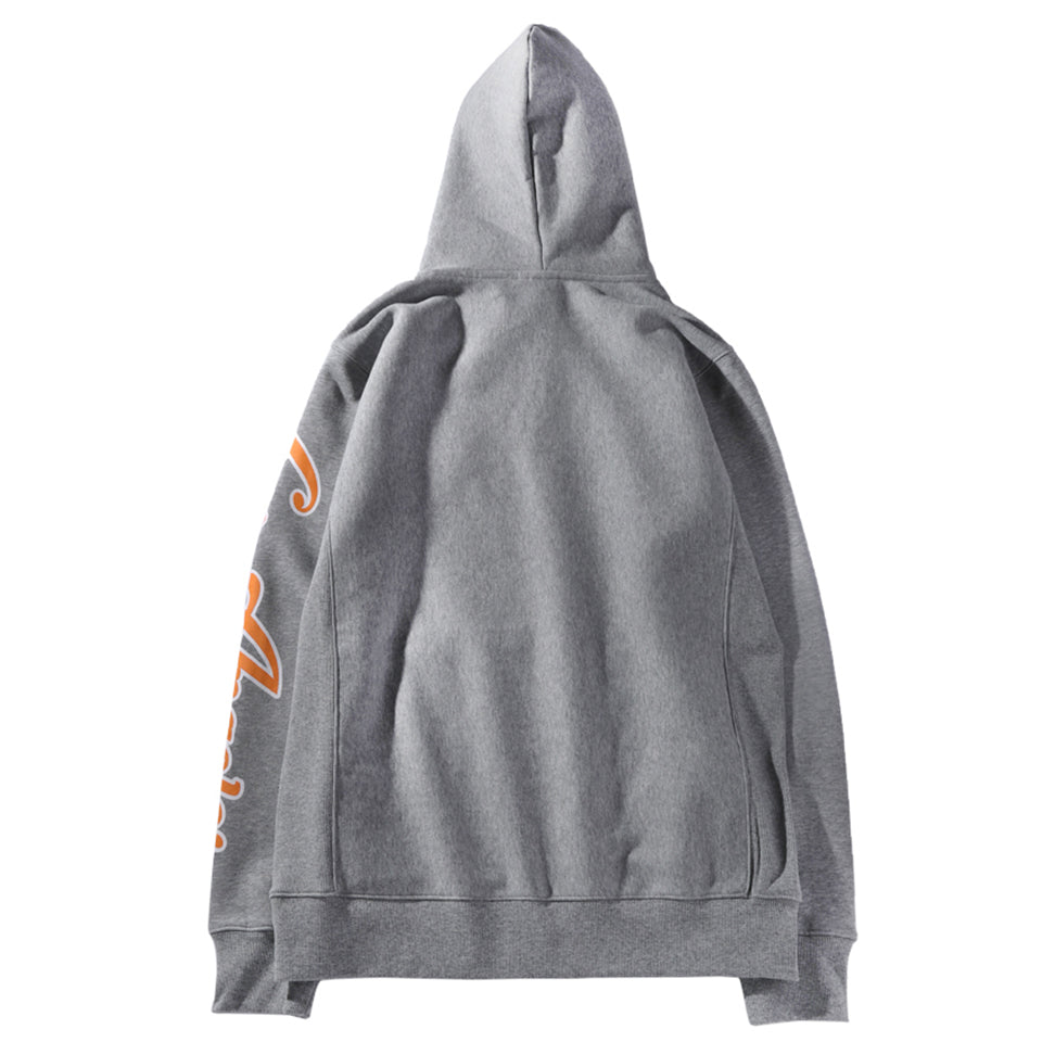 TIGER NATION HOODIE - GRAY