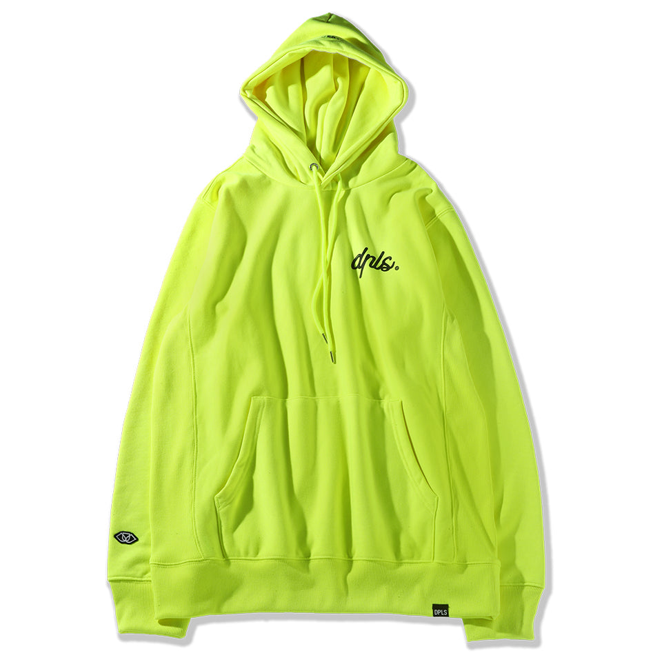 D NATION HOODIE - NEON YELLOW (1484248940615)