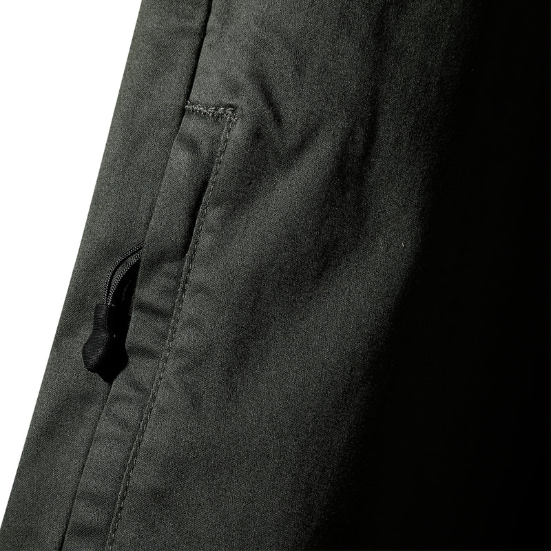 WOVEN JOGGER PANTS - OLIVE (1475305308231)