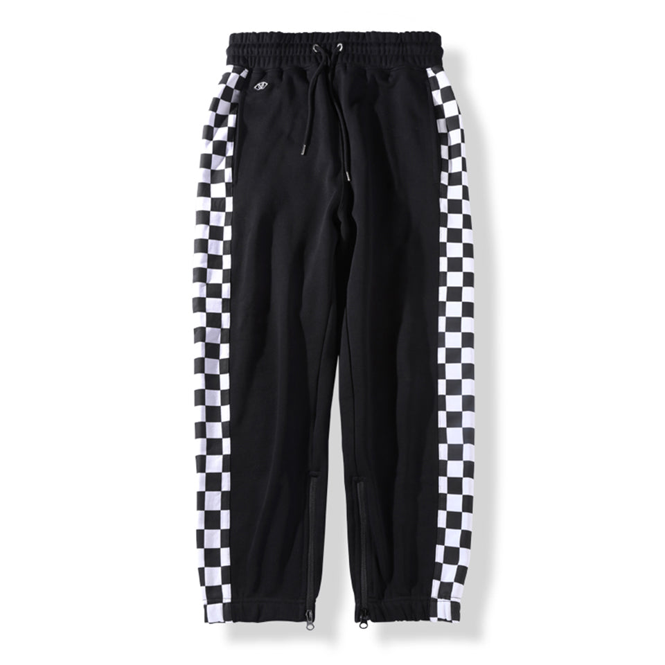 KNIT JOGGER PANTS - BLACK