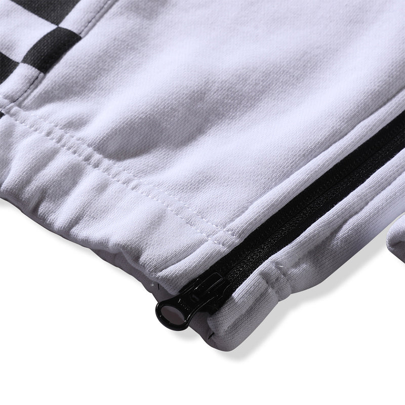 KNIT JOGGER PANTS - WHITE (1487358722119)