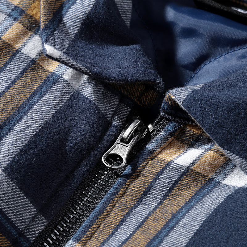 DPLS CONTRAST PLAID SHIRT (1565743317063)