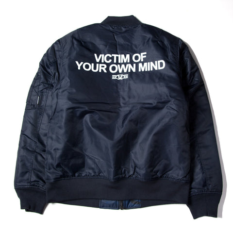 REVERSIBLE MA-1 JACKET - NAVY