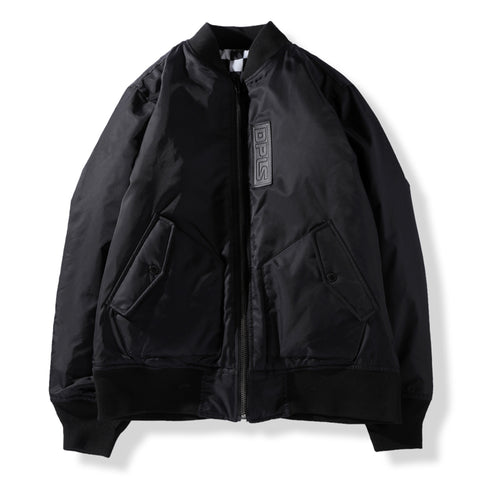 ABSTRACT MARK REV LETTERMAN JACKET