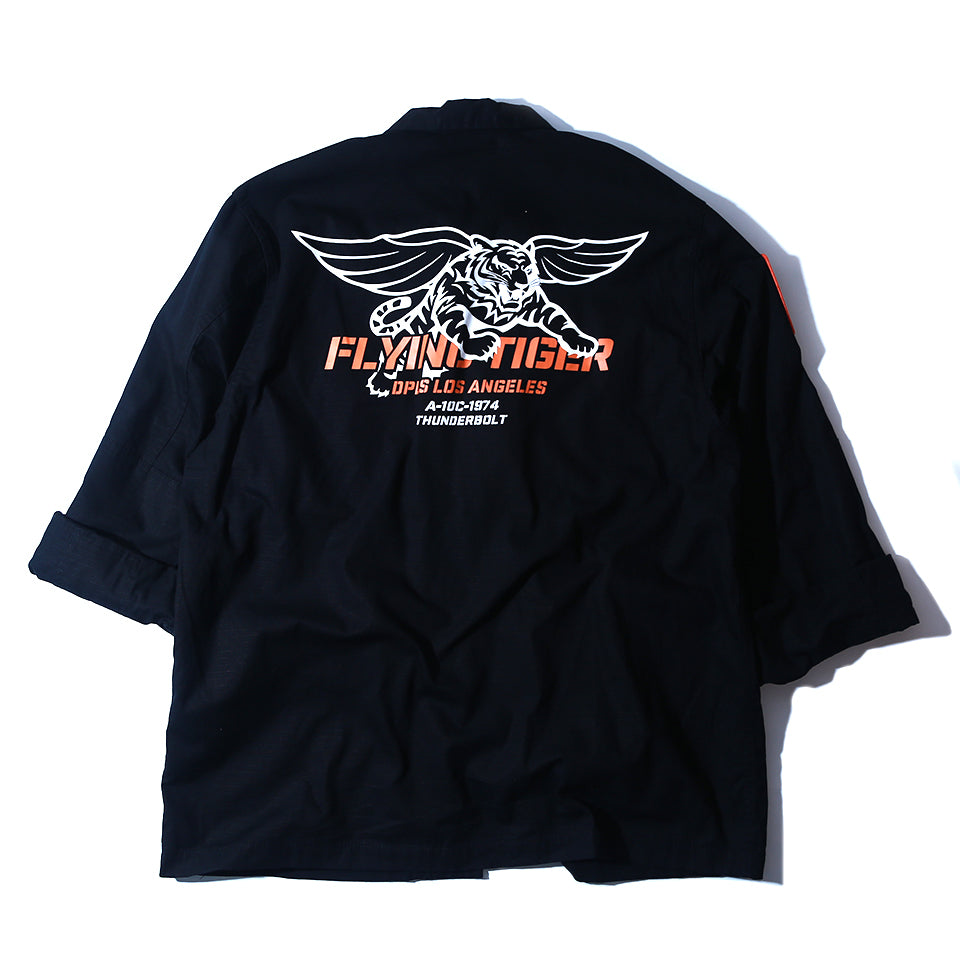 FLYING TIGER JACKET - BLACK