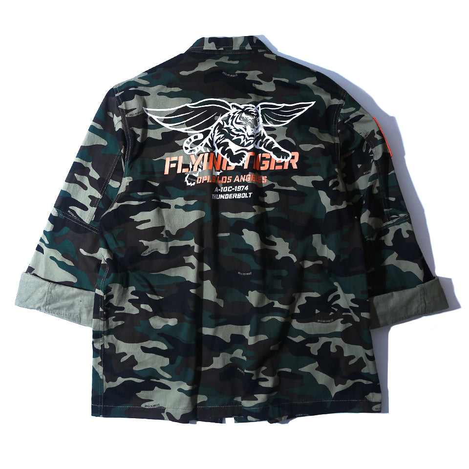 FLYING TIGER JACKET - OLIVE