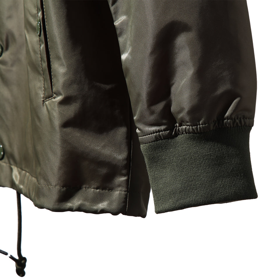 TIGER ARMY COACH JACKET - OLIVE