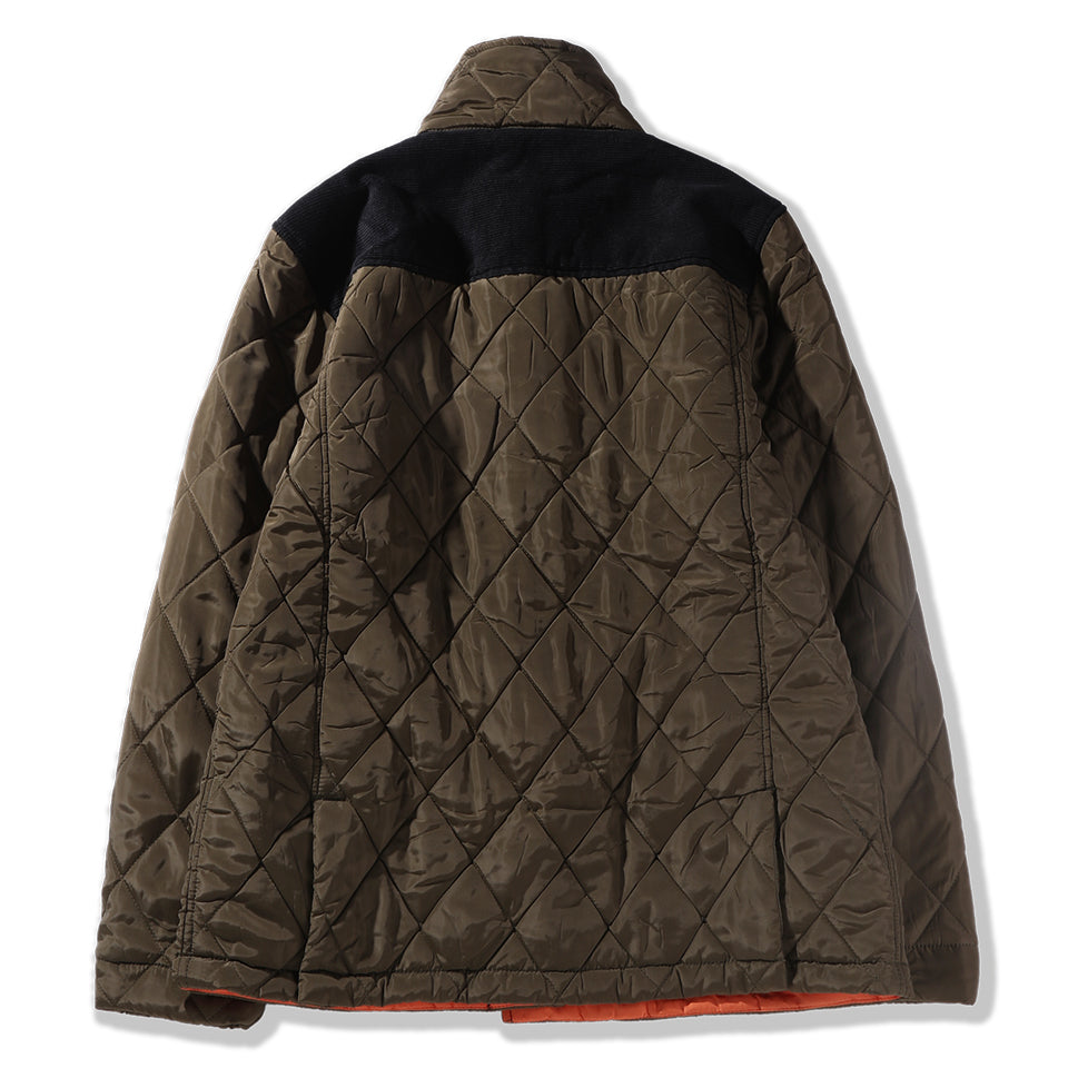 DPLS QUILTED JACKET - OLIVE