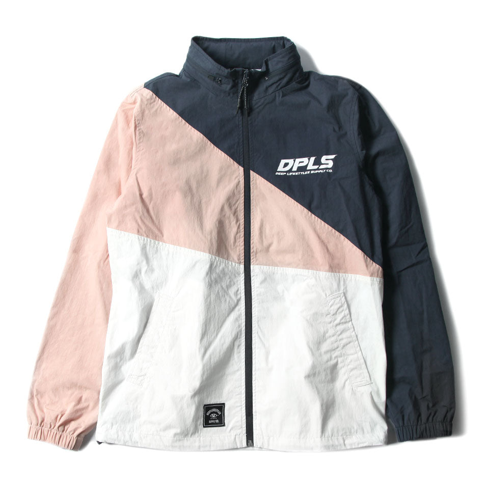 COLOR BLOCK JACKET - NAVY MULTI