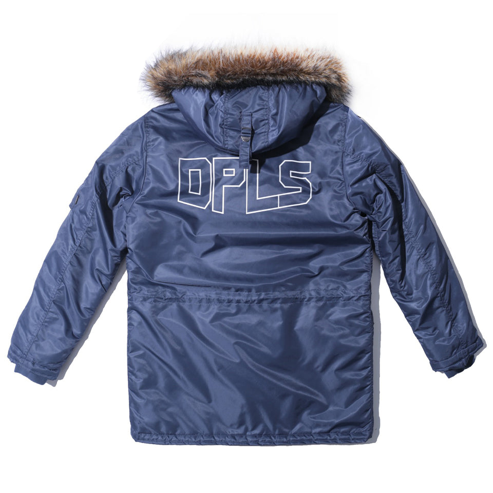 MIX ELEMENTS PARKA - NAVY