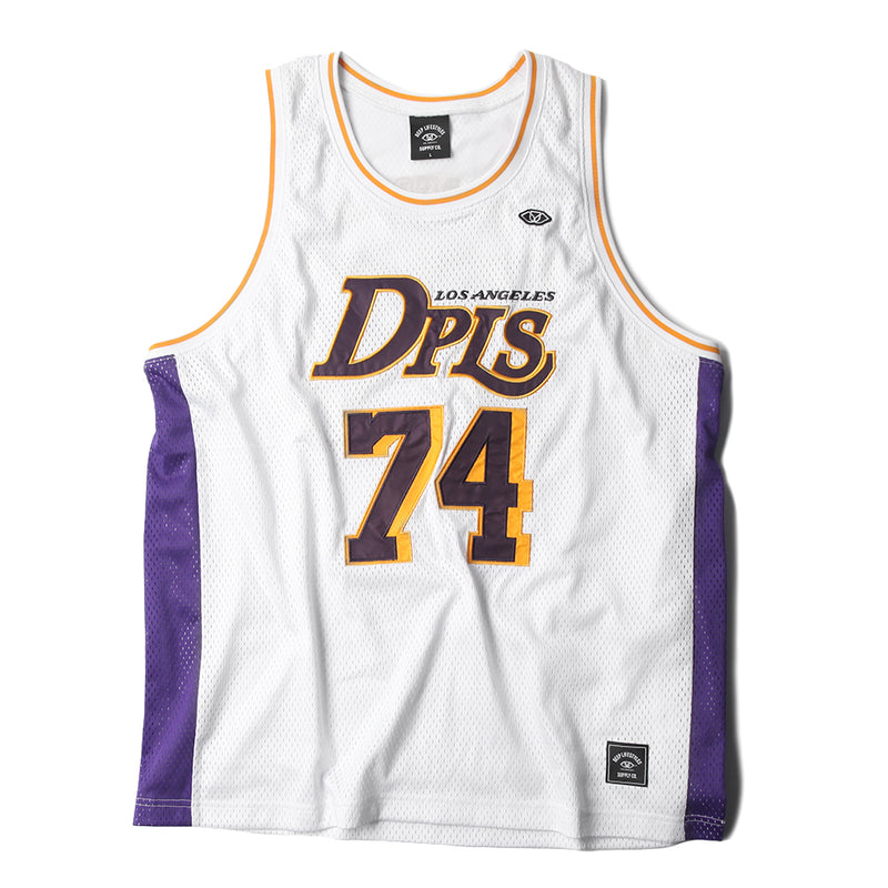 DPLS 74 ATHLETIC TANK - WHITE (1301268955207)