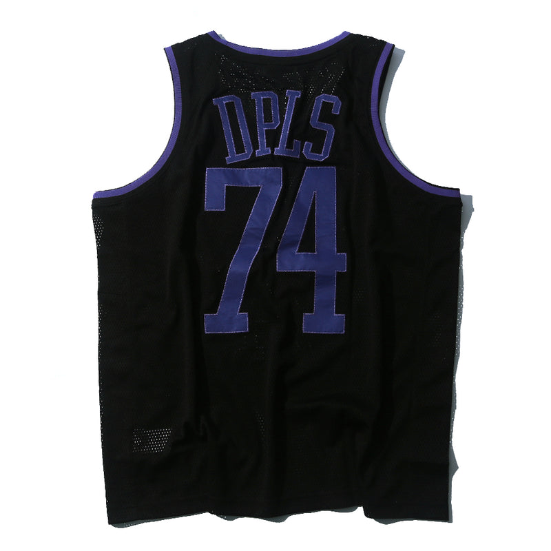 DPLS 74 ATHLETIC TANK - BLACK/PURPLE