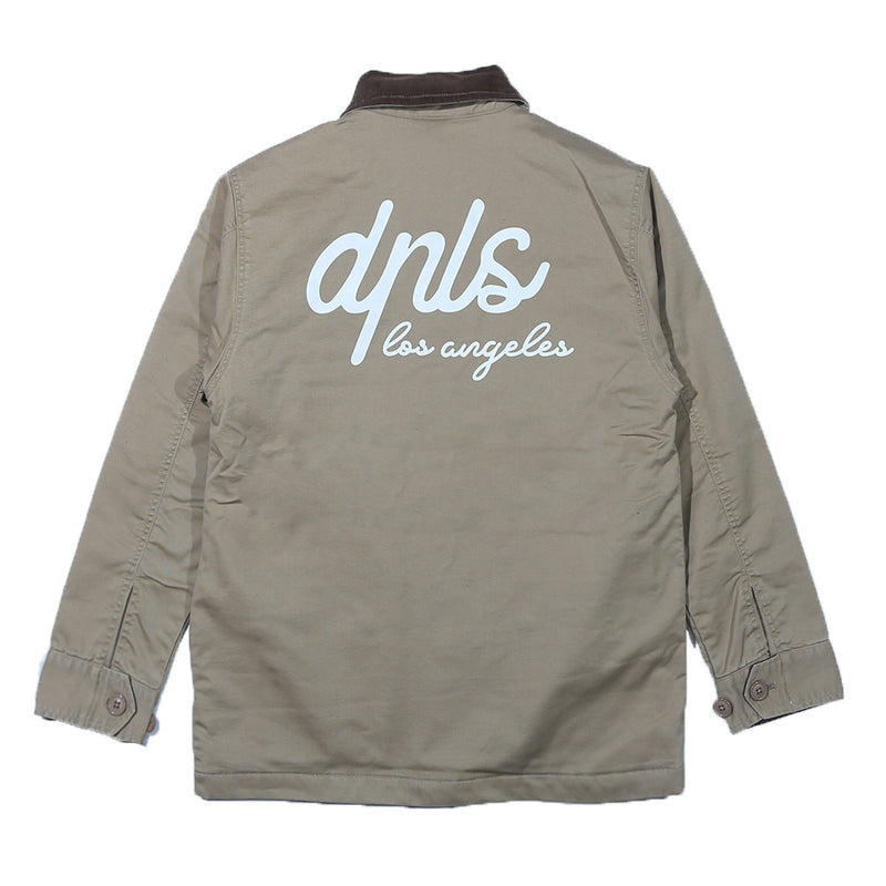 DPLS WORKER JACKET - BEIGE