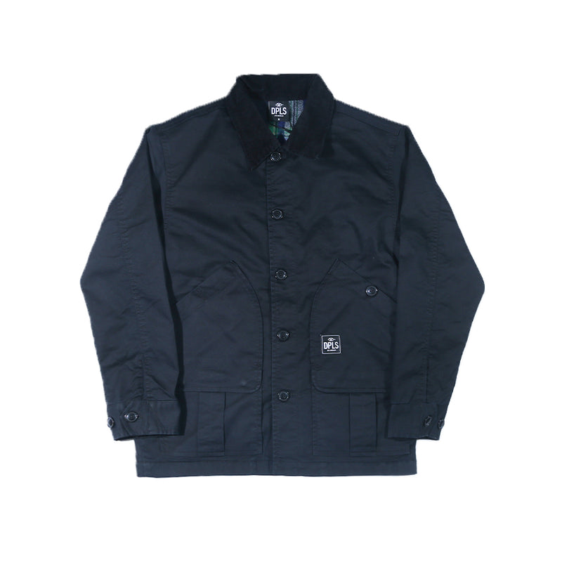 DPLS WORKER JACKET - BLACK