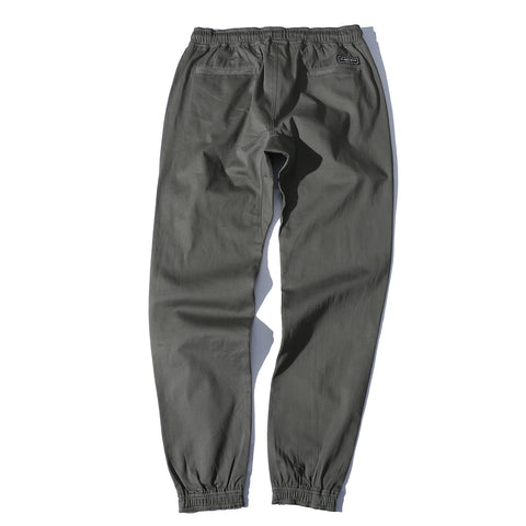 WOVEN JOGGERS - OLIVE