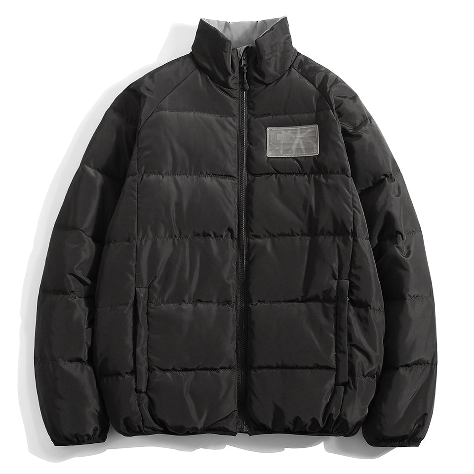 D NATION REV LITE DOWN JACKET - BLACK