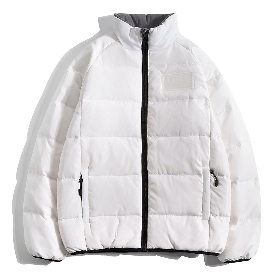 D NATION REV LITE DOWN JACKET - WHITE