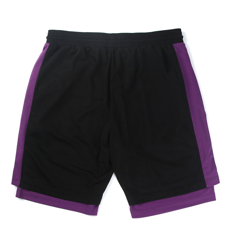DPLS 74 ATHLETIC SHORTS - BLACK