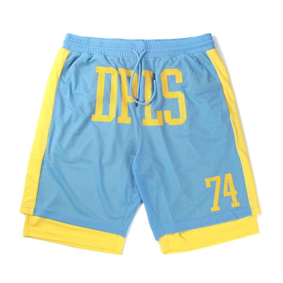 DPLS 74 ATHLETIC SHORTS - BLUE