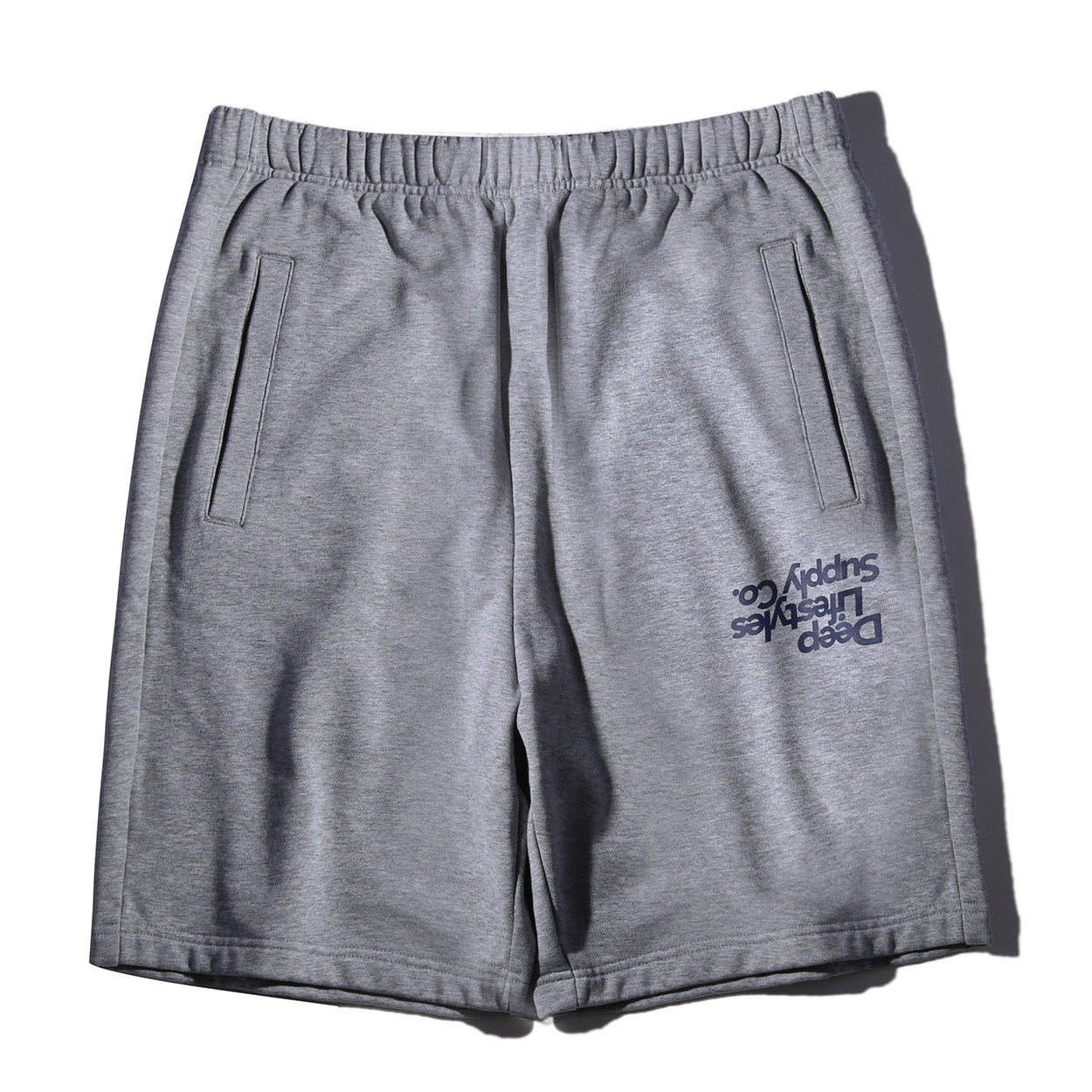 FRENCH TERRY SHORTS - HEATHER GRAY