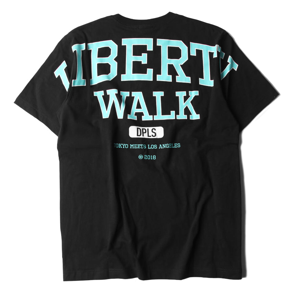 LIBERTY WALK BLACK UNISEX T-SHIRT RACING CAR TEAM
