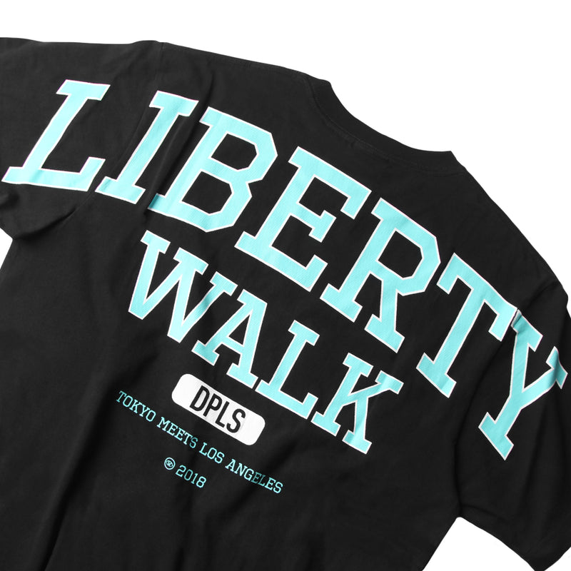 LIBERTY WALK BLACK UNISEX T-SHIRT RACING CAR TEAM (1308021751879)