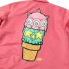 PINK COACH JACKET RON ENGLISH - ICE CREAM CONE (1590768664647)