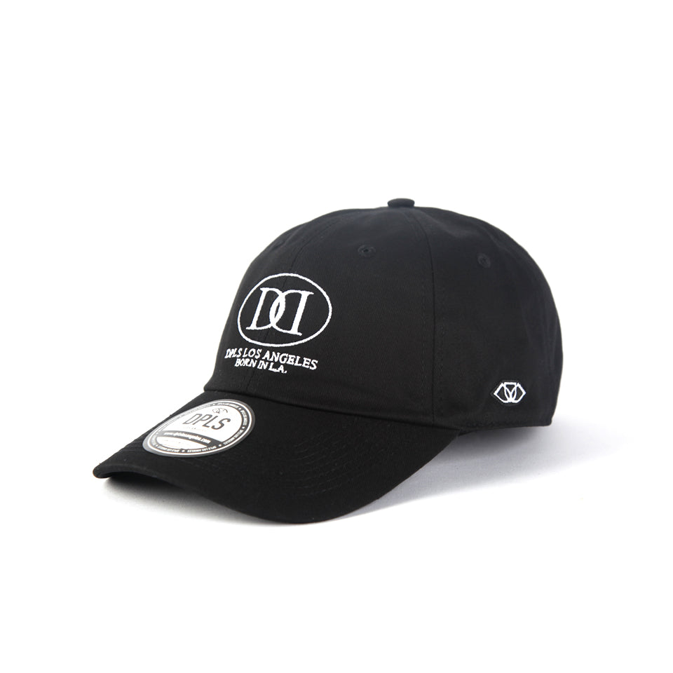 D LOGO POLO CAP - BLACK