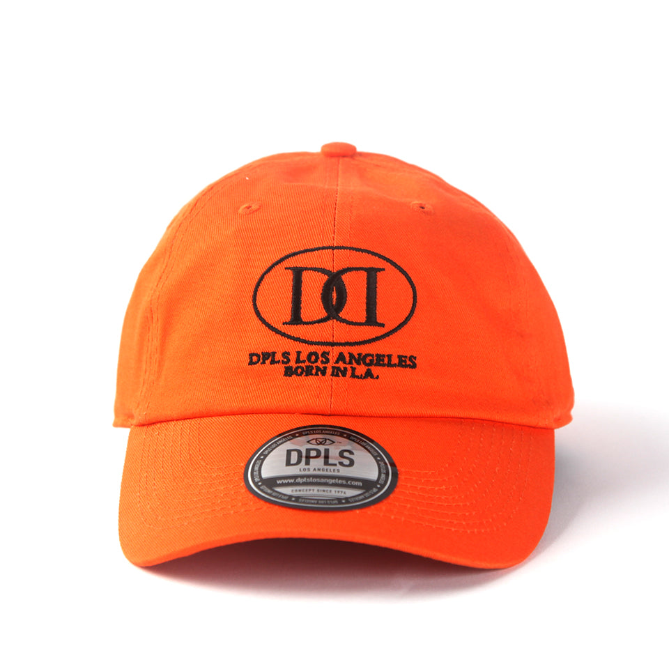 D LOGO POLO CAP - ORANGE