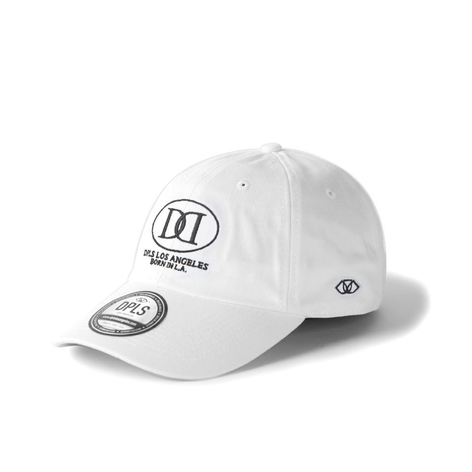 D LOGO POLO CAP - WHITE