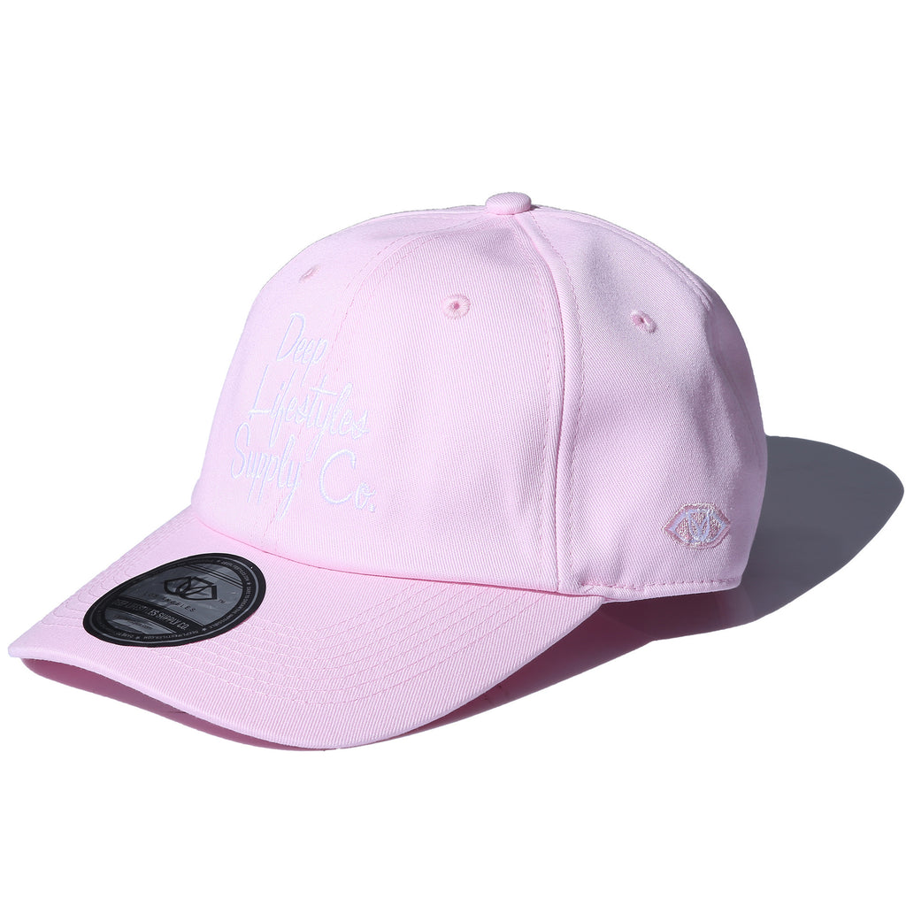 COREY DAD HAT - LIGHT PINK (1484695765063)