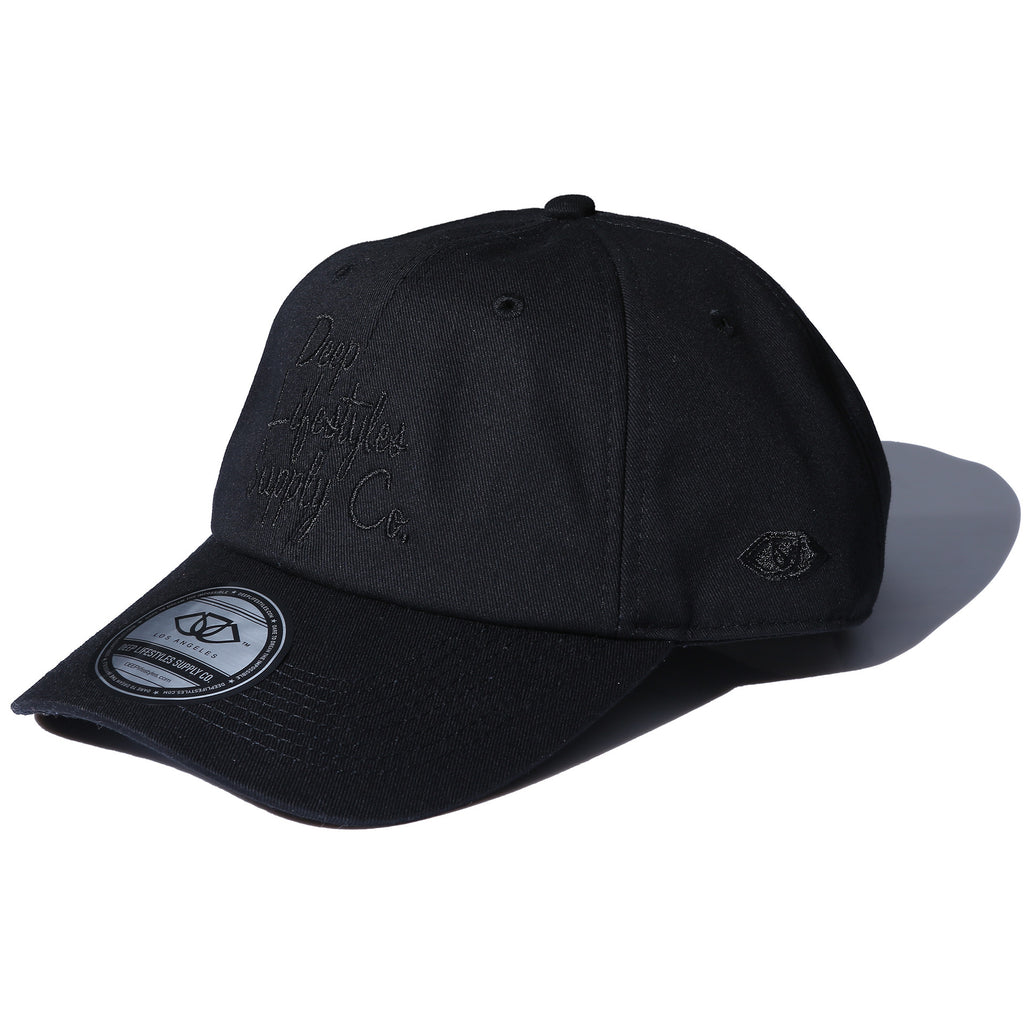 COREY DAD HAT - BLACK