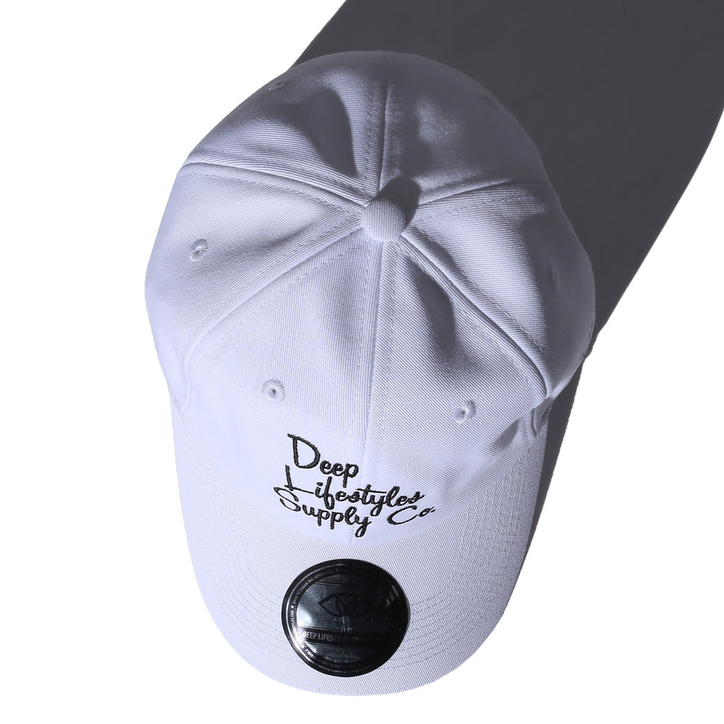 COREY DAD HAT - WHITE (9134995910)