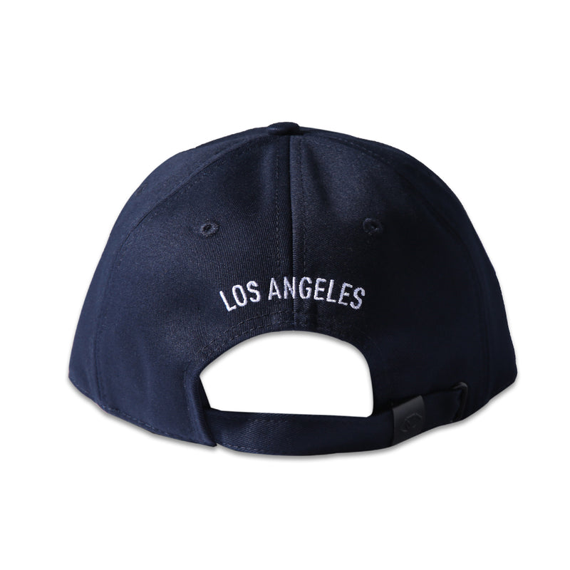 LARGE PRINT POLO CAP - NAVY (1472508002375)